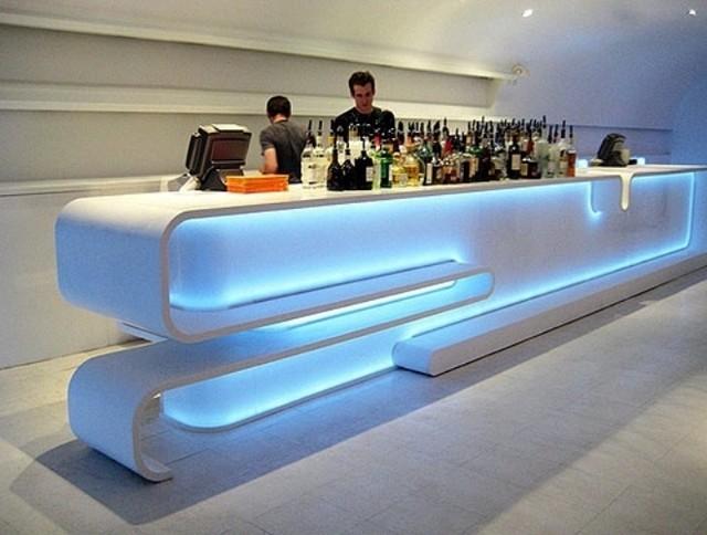 Подсветка витрин, монтаж светодиодного освещения, декоративная подсветка потолков