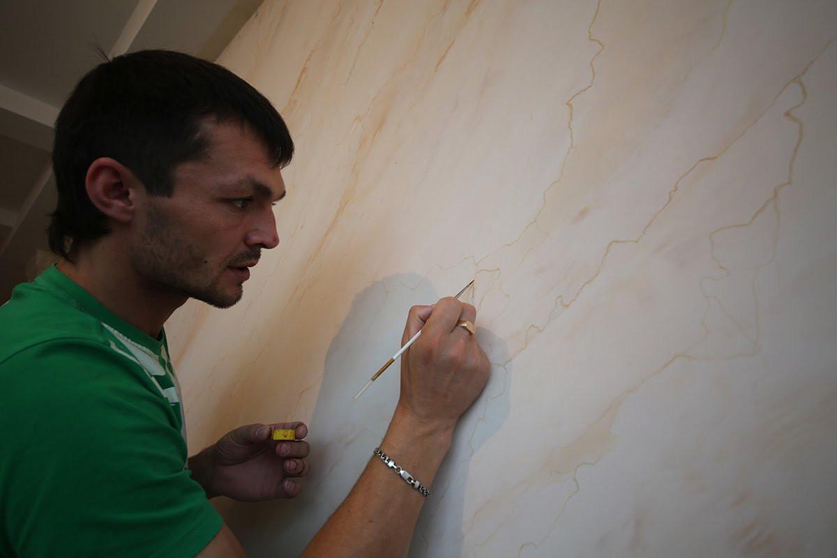 как делать венецианскую штукатурку своими руками