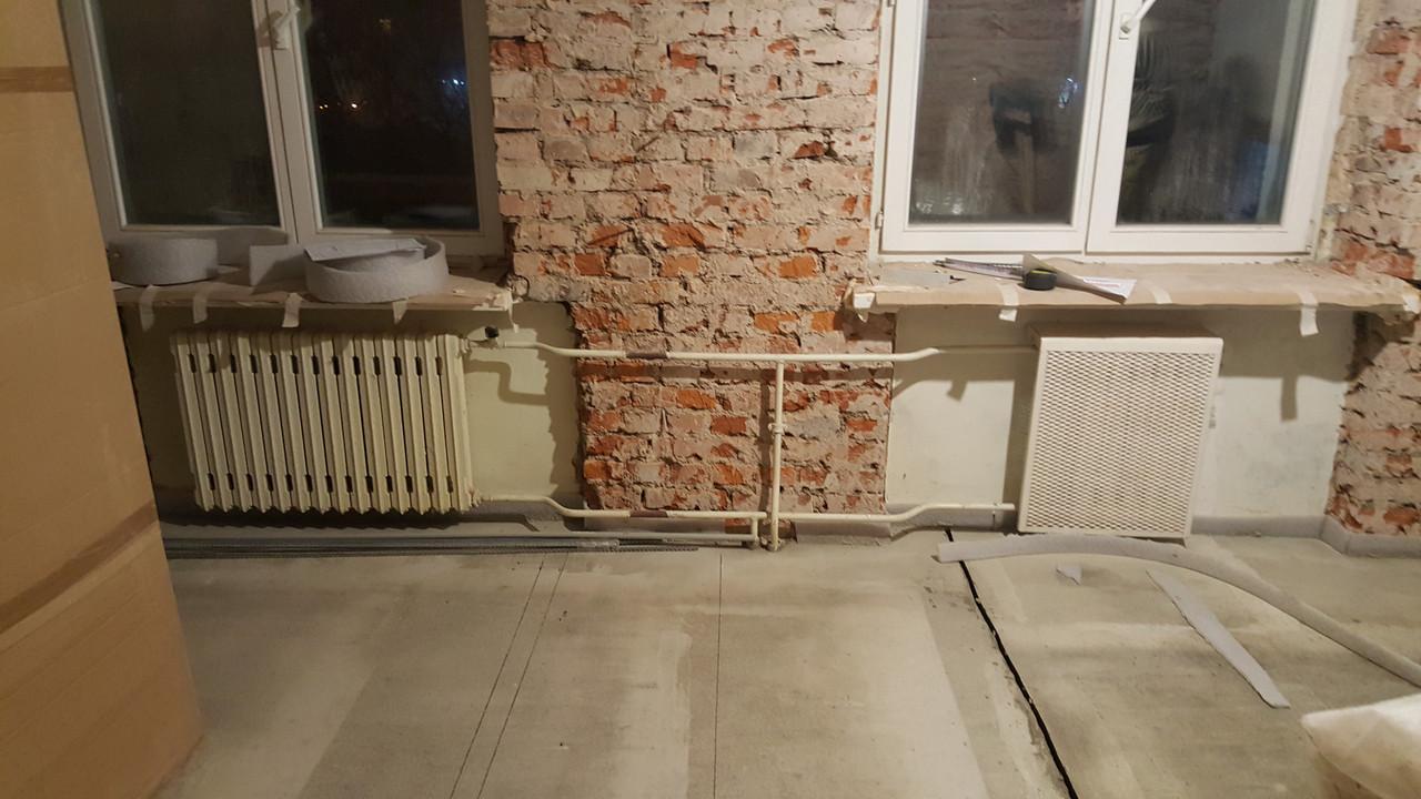 Устройство песчано цементной стяжки