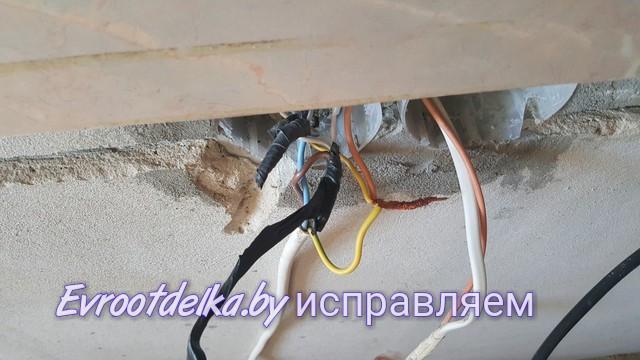 Каличная скрутка мягкого провода ПВС