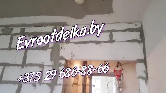 Установка перемычки над дверным проёмом evrootdelka.by