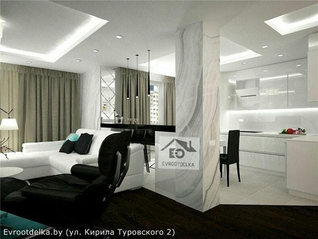Комплексный ремонт квартир в Минске